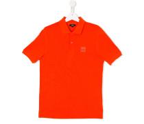 - Poloshirt mit Logostickerei - kids - Baumwolle