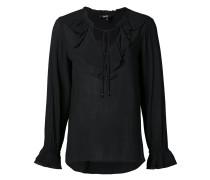 - Bluse mit gerüschtem Kragen - women - Viskose