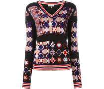 geometric pattern jumper