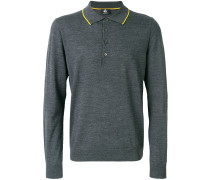 Merino-Pullover mit Polokragen