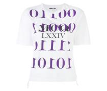 T-Shirt mit Logo-Print - women - Baumwolle - S