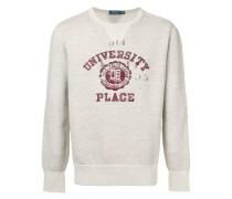 collegiate-inspired sweatshirt