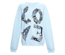 'Love' embroidered sweatshirt