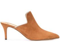 pointed heel mules