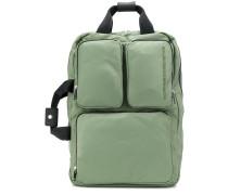 Laptoptasche mit aufgesetzten Taschen