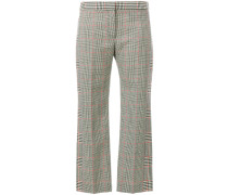 Prince Of Wales Cigarette trousers