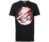 T-Shirt mit Haus-Print