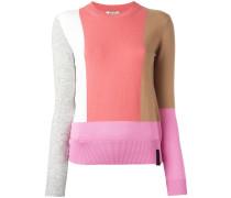 Pullover mit geknöpftem Saum