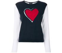 Pullover mit Herz-Applikation