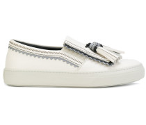 slip on tassel loafers