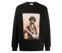 Sweatshirt mit Jimi Hendrix-Print