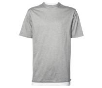 T-Shirt im Lagen-Look - men - Baumwolle - L