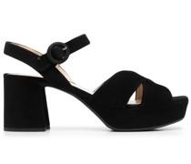 Sandalen mit Plateausohle 65mm