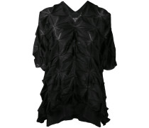 Bluse mit Origami-Muster - women