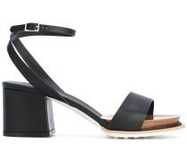 Sandalen mit Blockabsatz - women - Leder/rubber