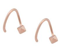 'Stud Twirl' earrings