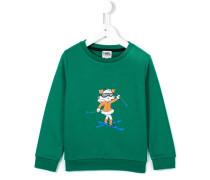 """Sweatshirt mit """"Choupette""""-Print"""