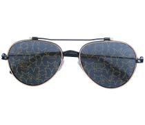 Sonnenbrille mit Sternmotiven