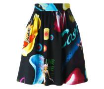 'Cosmic Pin-Up Girl' skirt