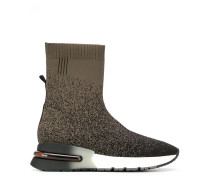 Sock-Sneakers mit Farbverlauf