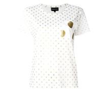 Gepunktetes T-Shirt - women - Baumwolle/Modal