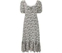 'Gabriela' Kleid mit Zebra-Print