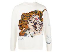 """Pullover mit """"Cloud Tigers""""-Stickerei"""