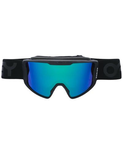 Skibrille mit blauen Gläsern