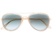 Klassische Pilotenbrille - women - Acetat/metal