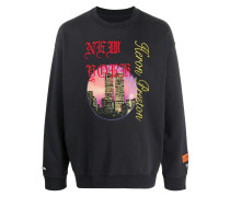 """Sweatshirt mit """"New York""""-Print"""