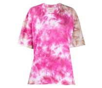 T-Shirt in Batik-Optik