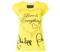 "- T-Shirt mit ""Love Is Everything""-Print - women"