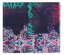Schal mit Print - men - Kaschmir/Modal