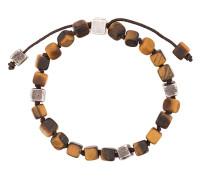 Armband mit Tigeraugen-Perlen