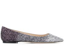 'Romy' Ballerinas mit Glitter