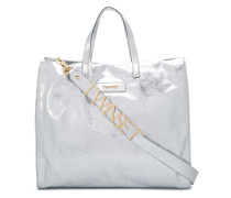 Handtasche mit Logo-Patch