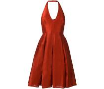 Rückenfreies Kleid mit Neckholder-Kragen