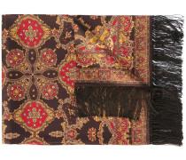 Seidenschal mit Paisley-Print