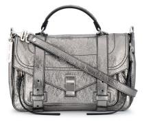 Metallic leather Medium PS1 satchel