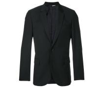 scalloped slim-fit jacket