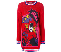 comic book sweater dress