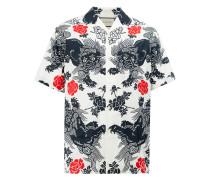 Hemd mit floralem Print - men - Baumwolle - 44