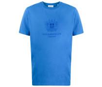 T-Shirt mit Wappenstickerei