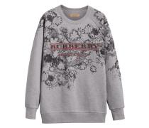 Doodle Print Jersey Sweatshirt