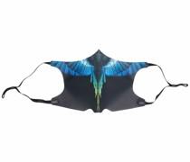 Mundschutzmaske mit Flügel-Print