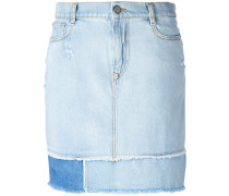 Jeansrock in Distressed-Optik - women