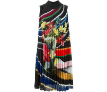 Plissiertes 'Heidi' Kleid mit Blumenmuster