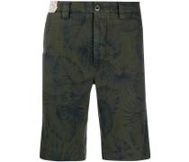 floral straight-leg shorts