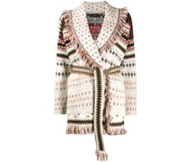 Cardigan mit Fair-Isle-Strickmuster