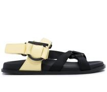 Gancini Sandalen mit Klettverschluss
